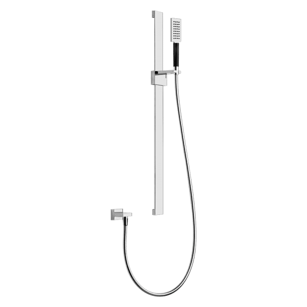 Gessi private-wellness Tremillimetri Square Shower on Rail Wellness