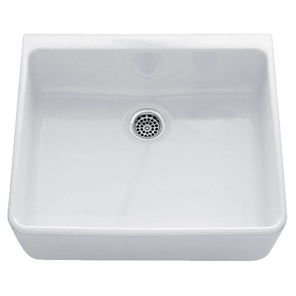 Chambord chambord-clotaire Chambord Clotaire Small Single Bowl Ceramic Kitchen Sinks
